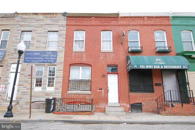 629 N Duncan Street, BALTIMORE, MD 21205 (#MDBA532576) :: The Sky Group