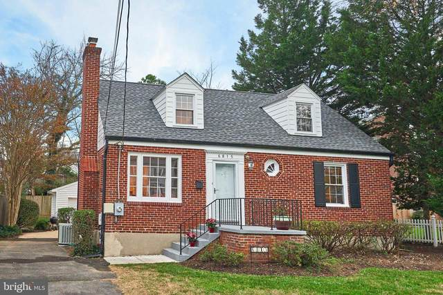 6815 Jefferson Avenue, FALLS CHURCH, VA 22042 (#VAFX1169634) :: The Gus Anthony Team