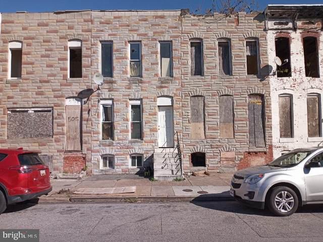 507 S Pulaski Street, BALTIMORE, MD 21223 (#MDBA532600) :: The Sky Group