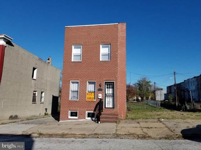 2106 E Lafayette Avenue, BALTIMORE, MD 21213 (#MDBA532604) :: The Miller Team
