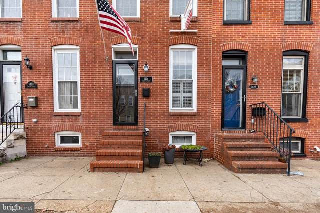 1424 Towson Street, BALTIMORE, MD 21230 (#MDBA532666) :: Better Homes Realty Signature Properties