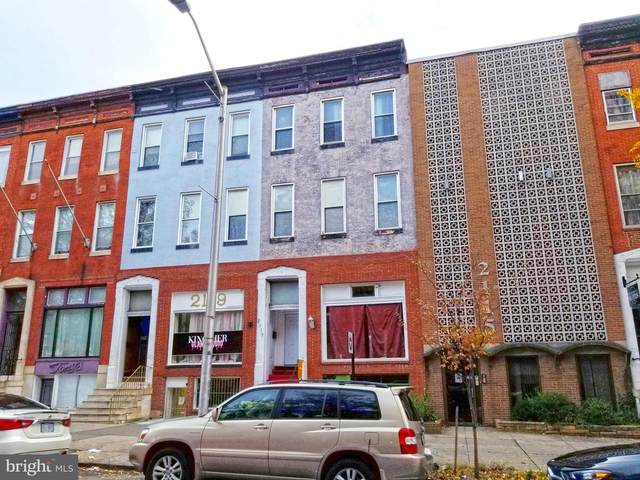 2117 N Charles Street, BALTIMORE, MD 21218 (#MDBA532750) :: Bic DeCaro & Associates