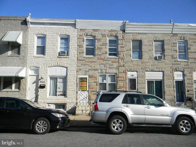 225 Grundy Street, BALTIMORE, MD 21224 (#MDBA532778) :: Better Homes Realty Signature Properties