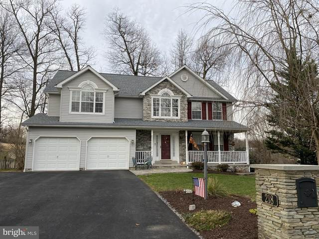 218 Jenny Lane, STEWARTSTOWN, PA 17363 (#PAYK149788) :: The Joy Daniels Real Estate Group