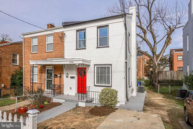 4708 B Street SE, WASHINGTON, DC 20019 (#DCDC498744) :: The Daniel Register Group