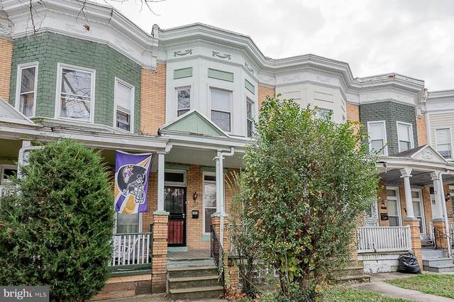 3007 Walbrook Avenue, BALTIMORE, MD 21216 (#MDBA532982) :: AJ Team Realty