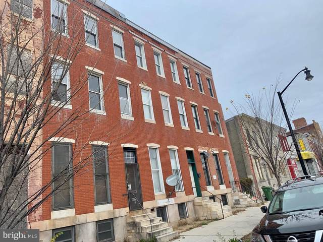 1240 E North Avenue, BALTIMORE, MD 21202 (#MDBA533040) :: ExecuHome Realty