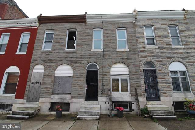 2329 E Oliver Street, BALTIMORE, MD 21213 (#MDBA533138) :: The Redux Group