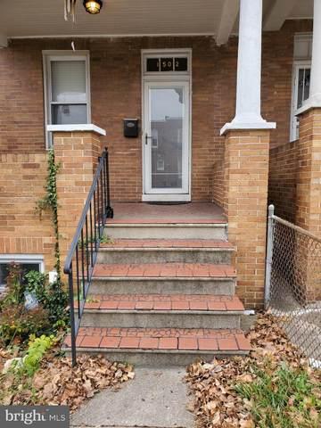 1502 N Rosedale Street N, BALTIMORE, MD 21216 (#MDBA533180) :: The Redux Group