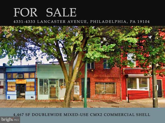 4331-4333 Lancaster Avenue, PHILADELPHIA, PA 19104 (#PAPH971528) :: The Dailey Group