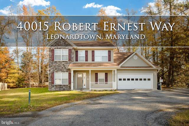 40015 Robert Ernest Way, LEONARDTOWN, MD 20650 (#MDSM173634) :: LoCoMusings