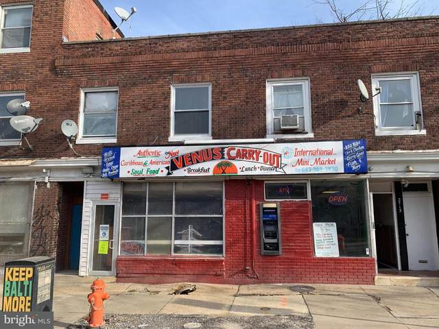 3713 Greenmount Avenue, BALTIMORE, MD 21218 (#MDBA535158) :: Corner House Realty