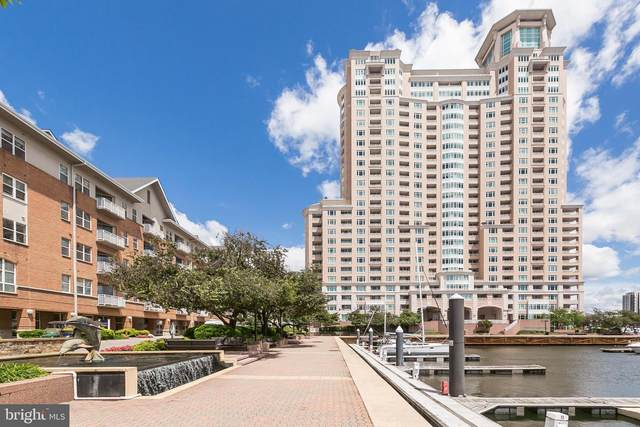 100 Harborview Drive #312, BALTIMORE, MD 21230 (#MDBA535246) :: Network Realty Group