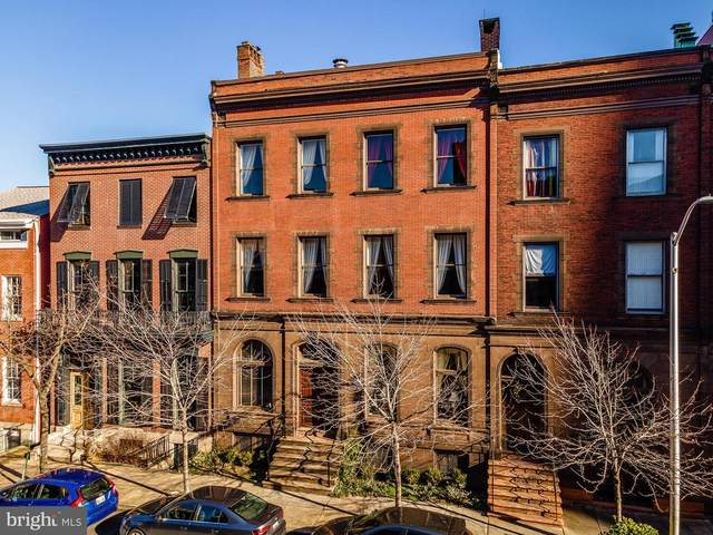 829 Park Avenue, BALTIMORE, MD 21201 (#MDBA535382) :: The Redux Group