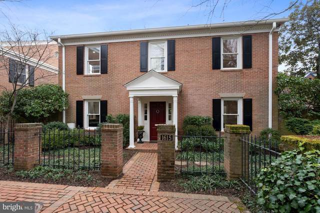 1615 31ST Street NW, WASHINGTON, DC 20007 (#DCDC502896) :: Arlington Realty, Inc.