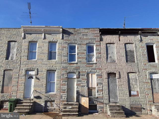 332 S Smallwood Street, BALTIMORE, MD 21223 (#MDBA536516) :: The Sky Group