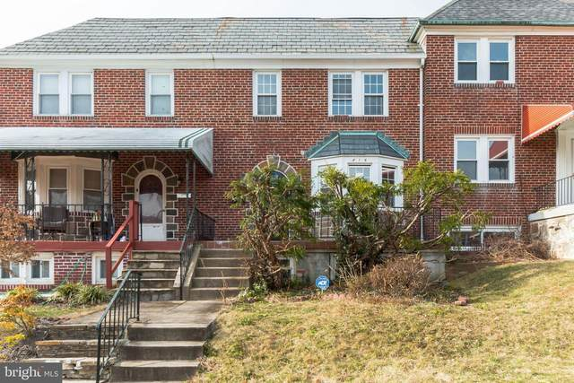 416 Overbrook Road, BALTIMORE, MD 21228 (#MDBC517256) :: EXIT Realty Enterprises