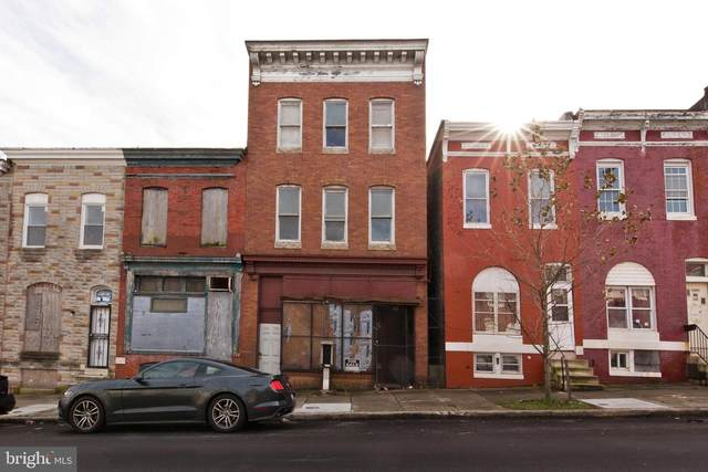 2581 W Baltimore Street, BALTIMORE, MD 21223 (#MDBA536880) :: The MD Home Team