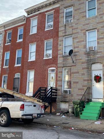 318 S Mount Street, BALTIMORE, MD 21223 (#MDBA536884) :: The Piano Home Group