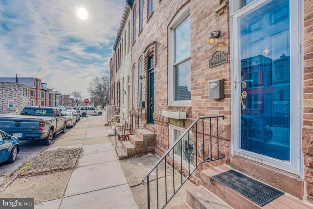 1524 Covington Street, BALTIMORE, MD 21230 (#MDBA537064) :: The Putnam Group