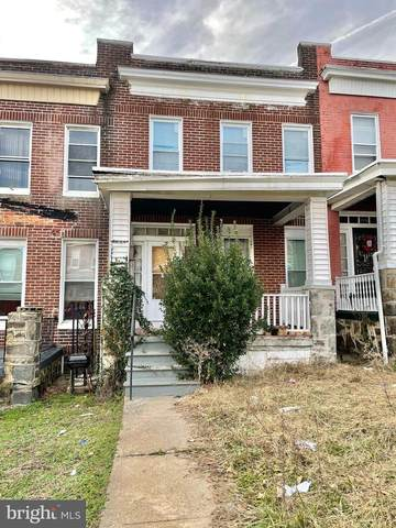 1006 N Rosedale Street, BALTIMORE, MD 21216 (#MDBA537170) :: The Putnam Group