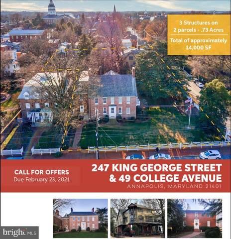 247 King George Street, ANNAPOLIS, MD 21402 (#MDAA457078) :: Erik Hoferer & Associates