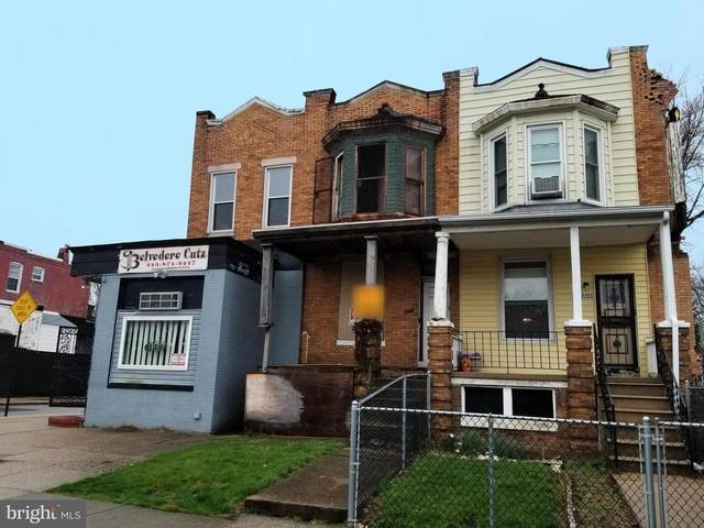 3703 W Belvedere Avenue, BALTIMORE, MD 21215 (#MDBA537250) :: Bic DeCaro & Associates