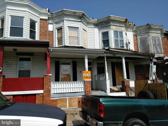 519 N Longwood Street, BALTIMORE, MD 21223 (#MDBA537356) :: LoCoMusings