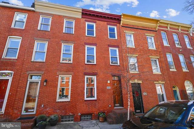 1240 Riverside Avenue, BALTIMORE, MD 21230 (#MDBA537408) :: The Miller Team