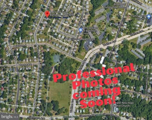 6421 Alta Avenue, BALTIMORE, MD 21206 (#MDBA537422) :: The Piano Home Group