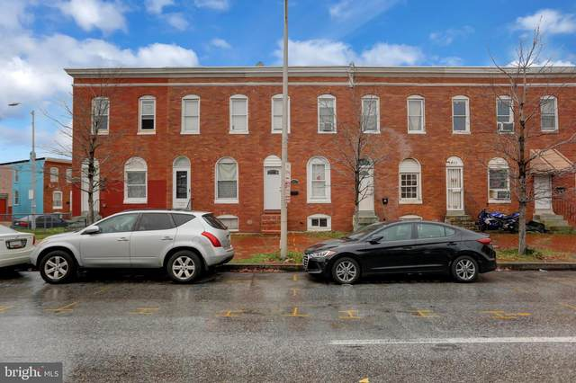 1807 Wilkens Avenue, BALTIMORE, MD 21223 (#MDBA537446) :: Arlington Realty, Inc.