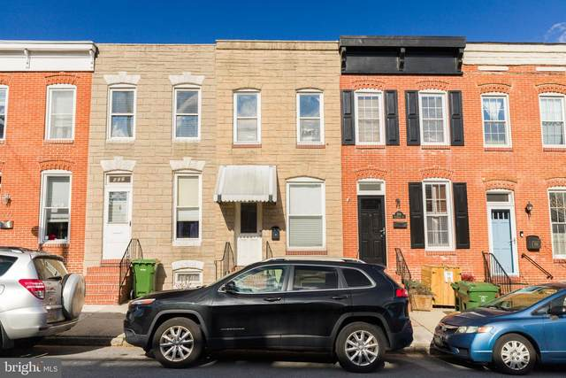 504 E Clement Street, BALTIMORE, MD 21230 (#MDBA537490) :: The Miller Team