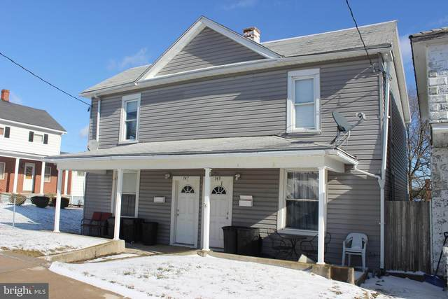 145-147 W Main Street, FROSTBURG, MD 21532 (#MDAL136116) :: Sunrise Home Sales Team of Mackintosh Inc Realtors