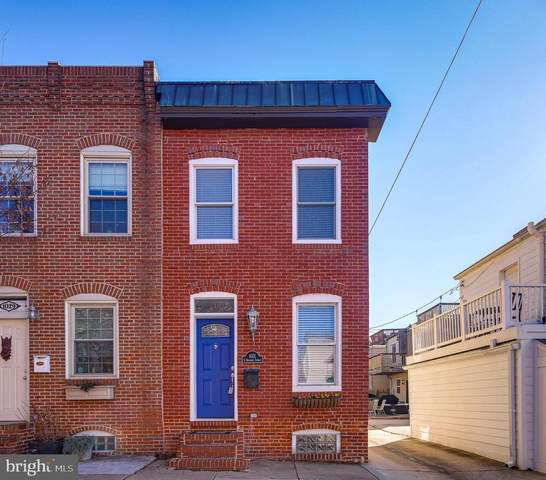 1031 S Bouldin Street, BALTIMORE, MD 21224 (#MDBA537854) :: The Dailey Group