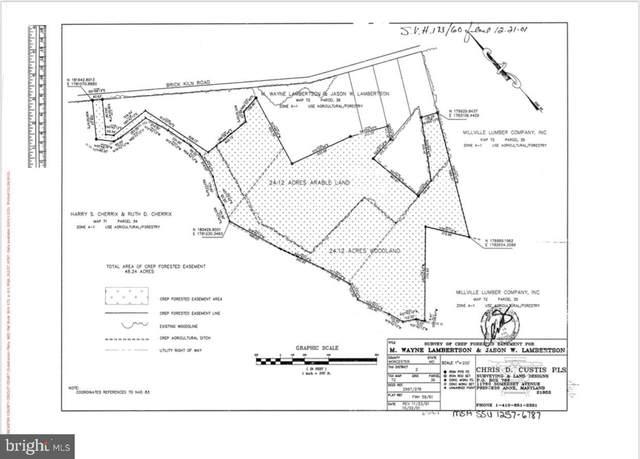 0 Brick Kiln Road, SNOW HILL, MD 21863 (#MDWO119810) :: RE/MAX Coast and Country