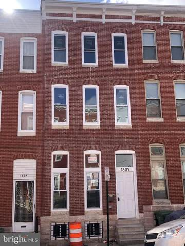 1607 E Biddle Street, BALTIMORE, MD 21213 (#MDBA539084) :: Lucido Agency of Keller Williams