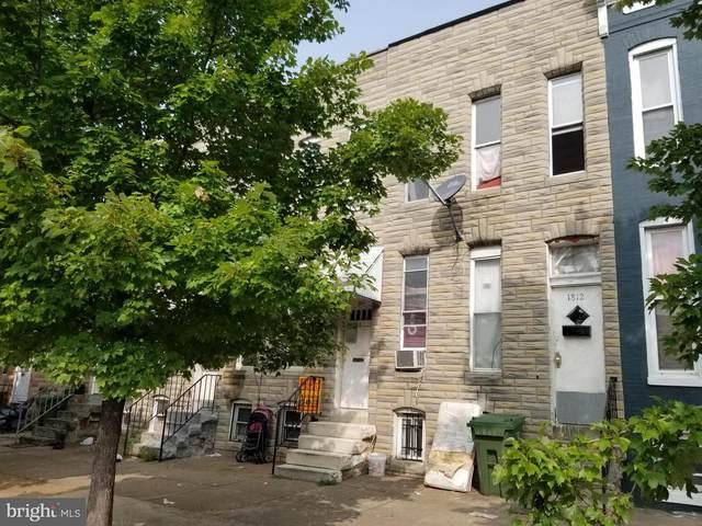 1814 Wilkens Avenue, BALTIMORE, MD 21223 (#MDBA539214) :: EXIT Realty Enterprises