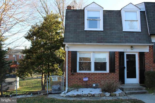 1435 Limit Avenue, BALTIMORE, MD 21239 (#MDBA539556) :: Sunrise Home Sales Team of Mackintosh Inc Realtors
