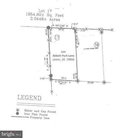 209 Abbott Park Lane, LEWES, DE 19958 (#DESU177470) :: Colgan Real Estate