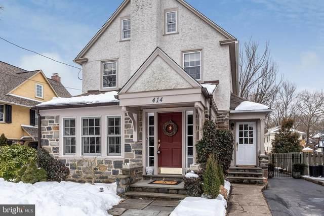 414 Haverford Avenue, NARBERTH, PA 19072 (#PAMC682862) :: The John Kriza Team