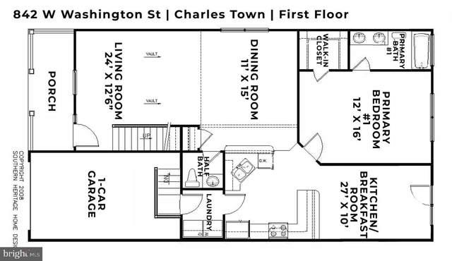 842 W Washington Street, CHARLES TOWN, WV 25414 (#WVJF141446) :: Give Back Team