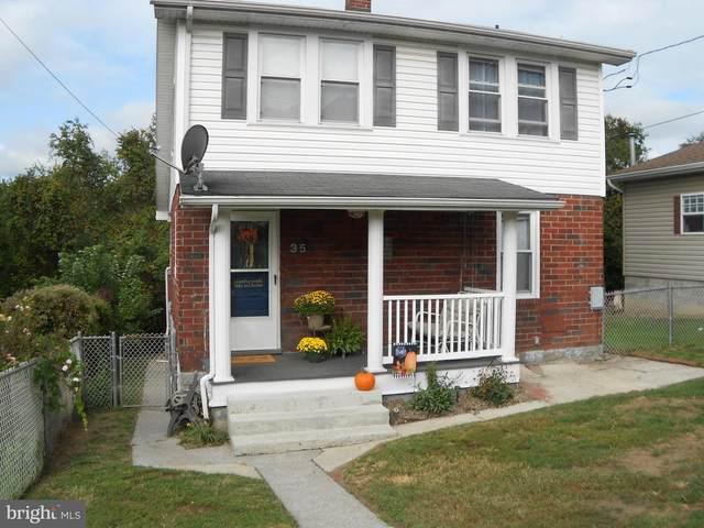 35 Hawthorne Avenue, CUMBERLAND, MD 21502 (#MDAL136232) :: AJ Team Realty
