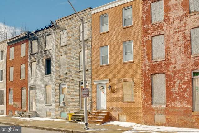 336 S Stricker Street, BALTIMORE, MD 21223 (#MDBA540222) :: EXIT Realty Enterprises