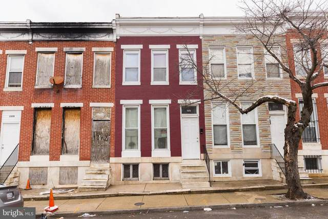 1826 Penrose Avenue, BALTIMORE, MD 21223 (#MDBA540338) :: The Sky Group