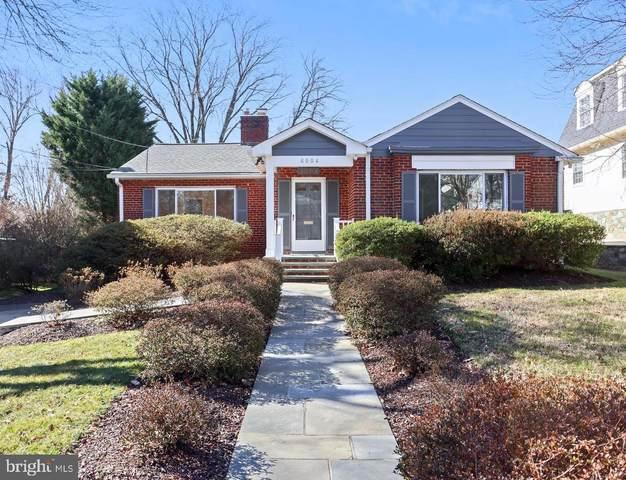 6004 Mckinley Street, BETHESDA, MD 20817 (#MDMC745518) :: Dart Homes