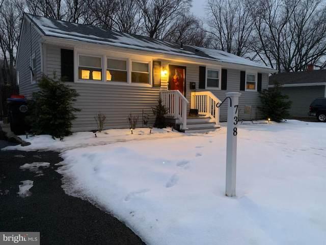 738 Bentley Road, LINDENWOLD, NJ 08021 (MLS #NJCD413848) :: The Sikora Group