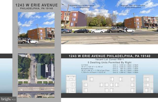 1243 W Erie Avenue, PHILADELPHIA, PA 19140 (#PAPH990360) :: Revol Real Estate