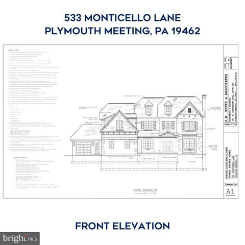 533 Monticello Lane, PLYMOUTH MEETING, PA 19462 (#PAMC683840) :: BayShore Group of Northrop Realty