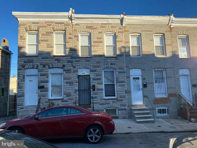 429 N Rose Street, BALTIMORE, MD 21224 (#MDBA541078) :: The Sky Group