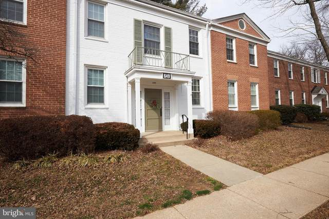649 Azalea Drive #4, ROCKVILLE, MD 20850 (#MDMC745952) :: Dart Homes